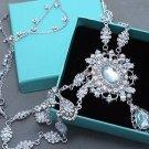 Wedding Hair Accessories Bridal Headpiece Vintage Crystal Rhinestone Head Chain