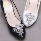 Aurora Clear Rhinestone Dangle Bridal Shoes Decoration Wedding Shoe Clips