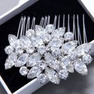 Bridal Accessories Vintage Hair Comb Diamante Rhinestone Wedding Headpiece