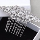 Vintage Style Wedding Bridal Crystal Rhinestone Girl Bride Hair Comb Accessories
