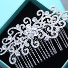 Wedding Headpiece Bridesmaids Bridal Crystal Hair Comb Rhinestone Jewelry