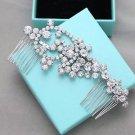 Wedding Hair Comb Bridal Rhinestone Hair Clip Art Deco Crystal Headpiece