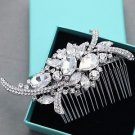 Vintage Style Large Rhinestone Crystal Wedding Bridal Hair Comb Accessories