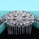 Vintage Style Bridal Rhinestone Comb Wedding Hair Head Crystal Headpiece Jewelry