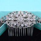 Vintage Style Bridal Rhinestone Comb Wedding Hair Head Crystal Headpiece Jewelry