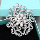 Faux Pearl Rhinestone Crystal Vintage Hair Comb Vintage Wedding Head Accessories