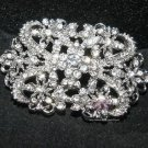 Vintage Style Wedding Bridal Rhinestone Crystal Brooch Pin Jewelry