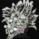 Large Vintage Bridal Flower Bride Hair Accessories Jewelry Wedding Brooch Pin