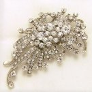 Vintage Style Rhinestone Crystal Wedding Brooch Pin Jewelry Accessories