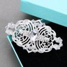 Vintage Style Rhinestone Comb Wedding Hair Clip Crystal Headpiece Jewelry