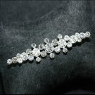 Bridal Wedding Men Groom Rhinestone Crystal Corsage Brooch Pin Jewelry