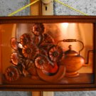 Vintage Tooled Art Copper Picture
