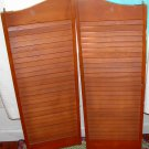 Wooden Louvered shutters