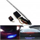 48 SMD RGB LED Strip Light 22 Inches & RC Remote Control For Mazda Acura Honda Nissan Toyota Subaru