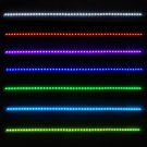 "Universal Kit 48 SMD RGB LED Strip Light 22"" Water Resistant with Remote Control For Van SUV Truck"