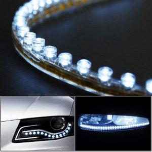 LED Side Glow Switchback Daytime Running Lamp Driving Light For Buick Enclave Lucerne Lacrosse Regal