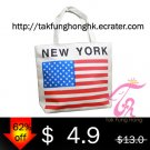New York Canvas Handbag