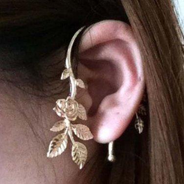Leave Ear Cuff Earring II Tak Fung Hong Hk