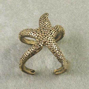 Handmade Starfish Ring Tak Fung Hong Hk