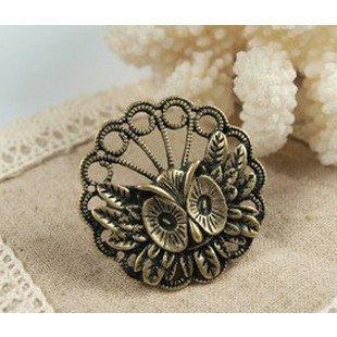 Handmade Big Eyes Owl Ring III Tak Fung Hong Hk