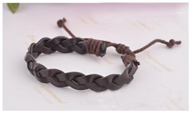 Handmade Adjustable Leather Bangle II Tak Fung Hong Hk