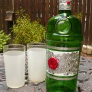 "Altered Tanqueray Bottle - ""Tanq & Tinsel"""