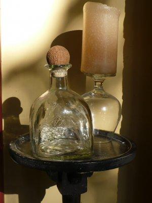"Altered Patron Bottle - ""Patron Lashes"""