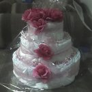 3 TIER PINK CAKE