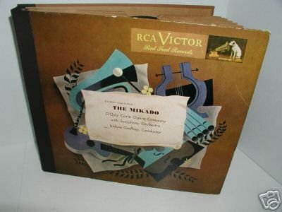 THE MIKADO RCA VICTOR RED SEAL RECORDS 11 COMPLETE SET