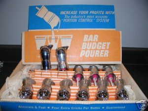 Bar Metal Pourer Budget Bottle Pourers Lot of 11