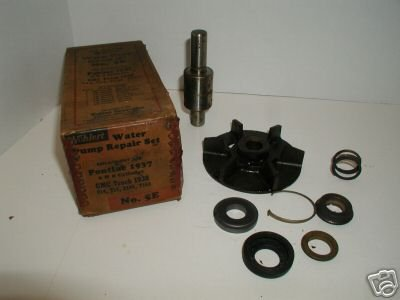 Wolhert Water Pump Repair Set No. 5E Pontiac 1935