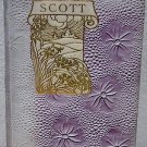 Complete Poetical Works Poems of Sir Walter Scott 1894 Decorative Book Cover
