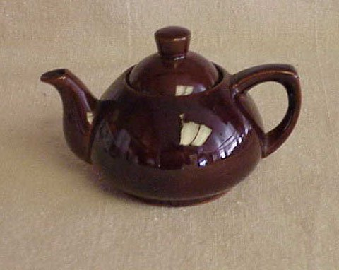 Individual Size Brown Teapot - Ming Tea Co