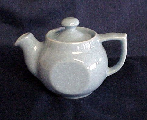 Small & Lovely Blue Teapot - Memory Lane Collectibles