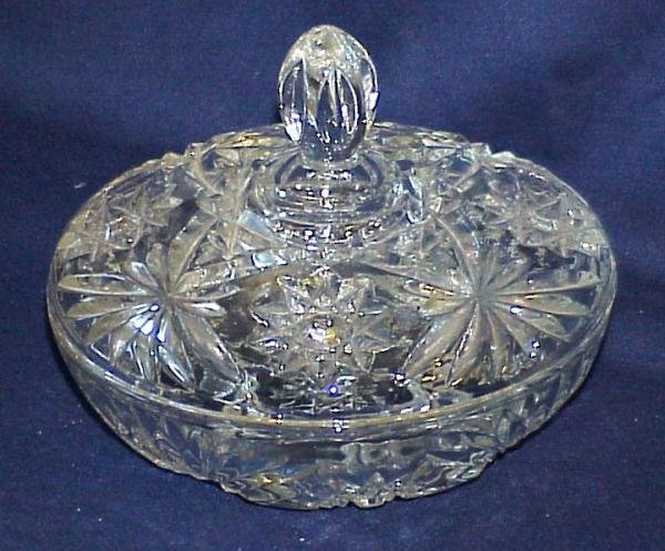 EAPG Covered Candy Dish - Memory Lane Collectibles