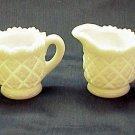 Westmoreland Thumbelina Child Size Creamer & Sugar - Memory Lane Collectibles