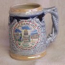 Vintage Stein - Souveneir Sacramento, California  - Memory Lane Collectibles