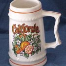 California Miniature Stein  - Memory Lane Collectibles