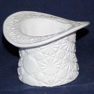 Fenton Milk Glass Daisy & Button Hat - Memory Lane Collectibles