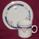 Demitasse Cup & Saucer  - Memory Lane Collectibles