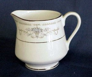 Fine Porcelain China Creamer - Diane by Wade - Memory Lane Collectibles