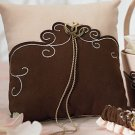 Romantic Vintage Western Ring Pillow