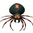4 Foot Wide Halloween Inflatable Black Spider Yard Decoration #150
