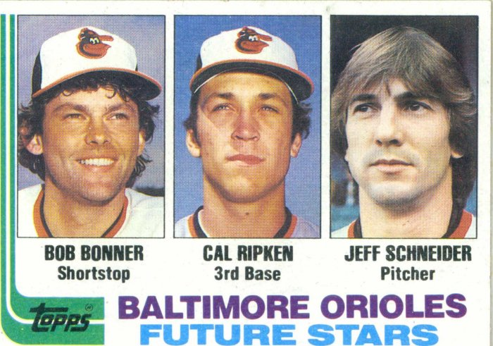 Cal Ripken, Jr - 1982 Topps Rookie Card