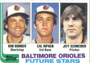 Cal Ripken, Jr - 1982 Topps Rookie Card