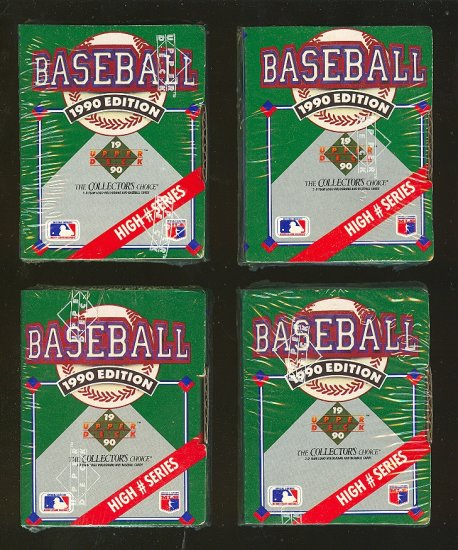 1990 Upper Deck Set (High Numbers) 100 cards