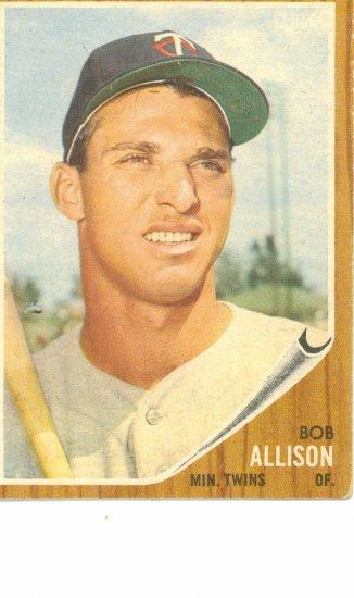 '62 Bob Allison - Topps #180 - Twins