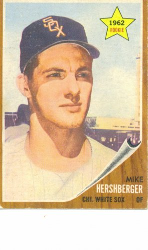 '62 Mike Hershberger - Topps #341 - White Sox