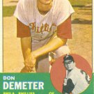 '63 Don Demeter - Topps #268 -  Phillies