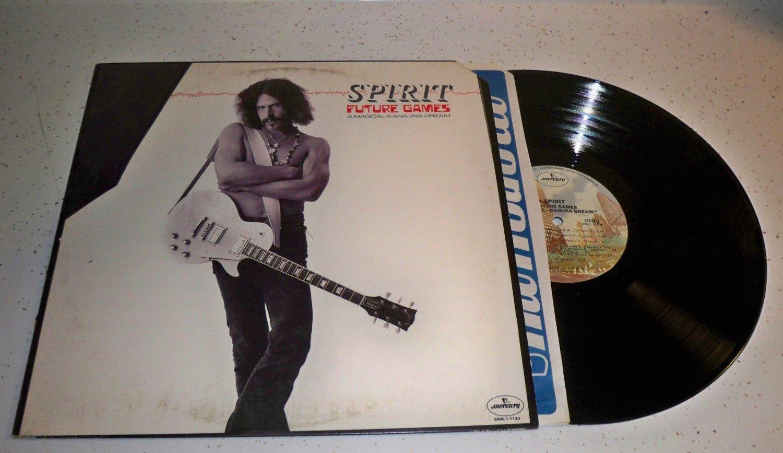 SPIRIT Future Games A Magical Kahauna Dream LP Vinyl Record 1977 VG+